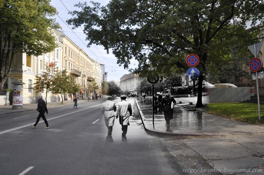 Рига 1941-2013 Рижские евреи на ул. Кришьяна Валдемара SL