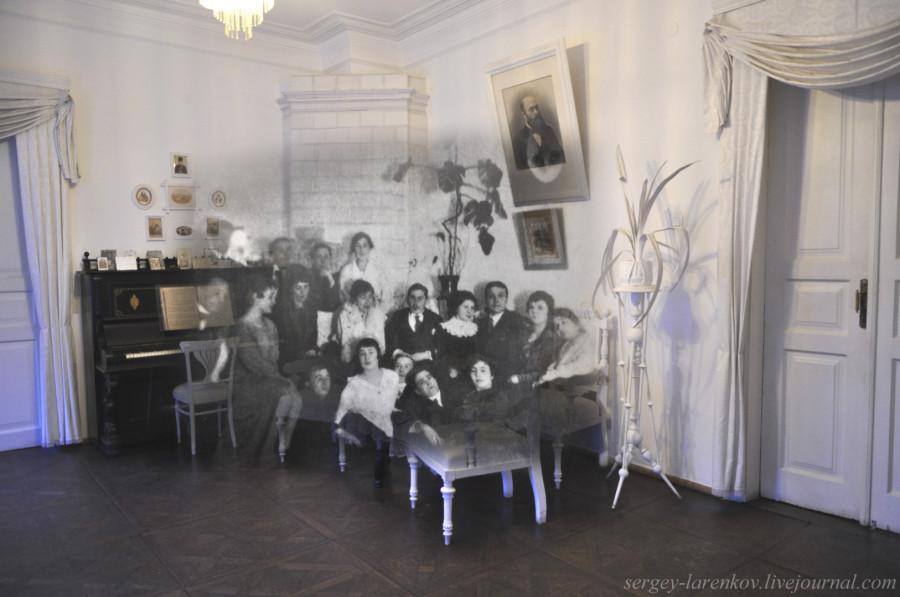 В гостиной SL