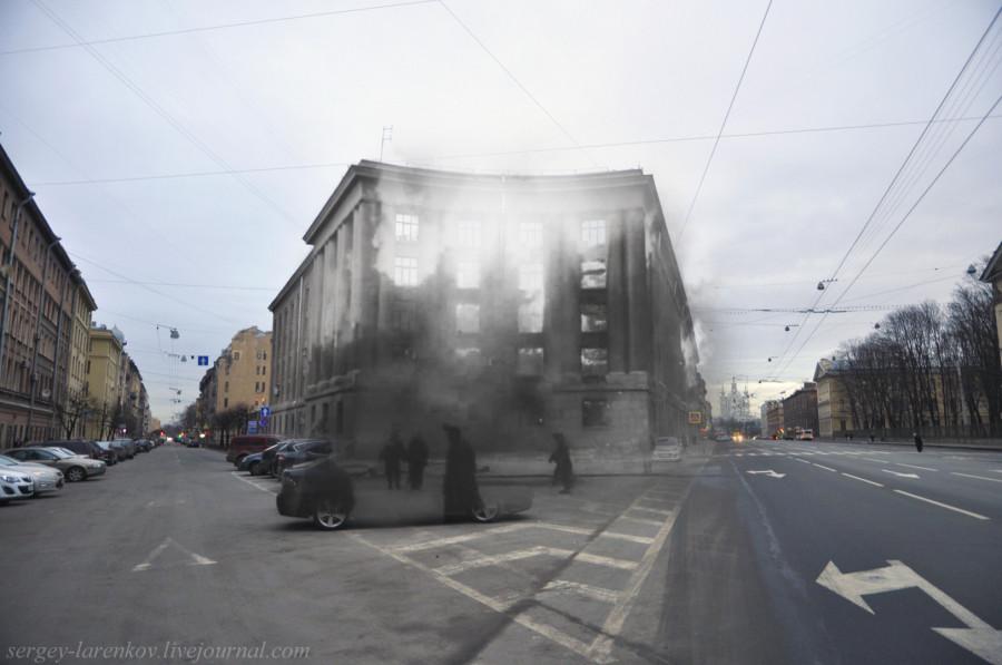 Пожар в госпитале на Суворовском