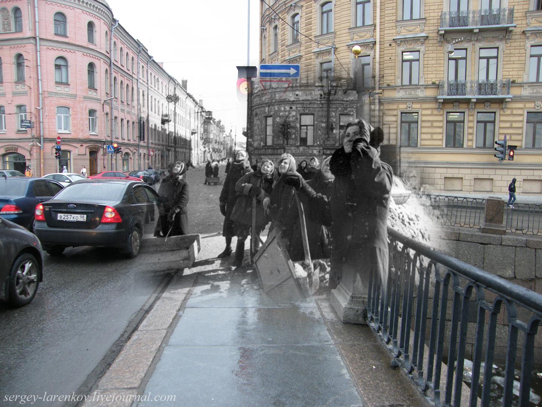 038.Ленинград 1942-2009 Мост Ломоносова-Чернышев