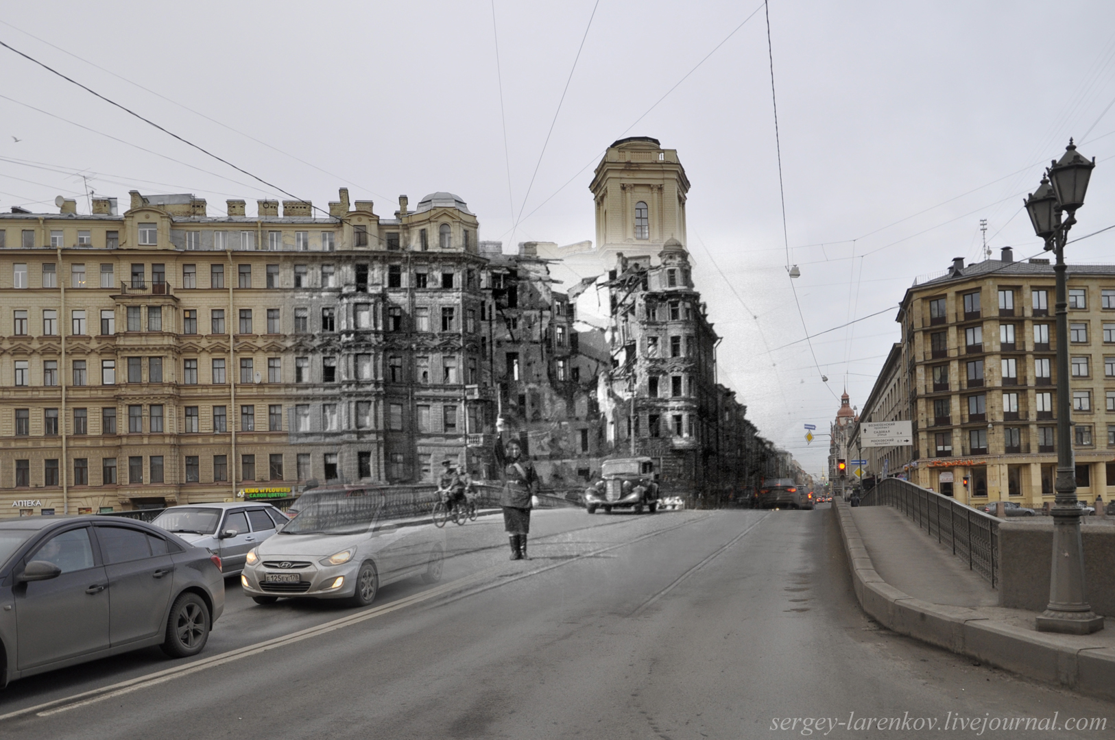 242.Ленинград 1943-2013. Измайловский мост