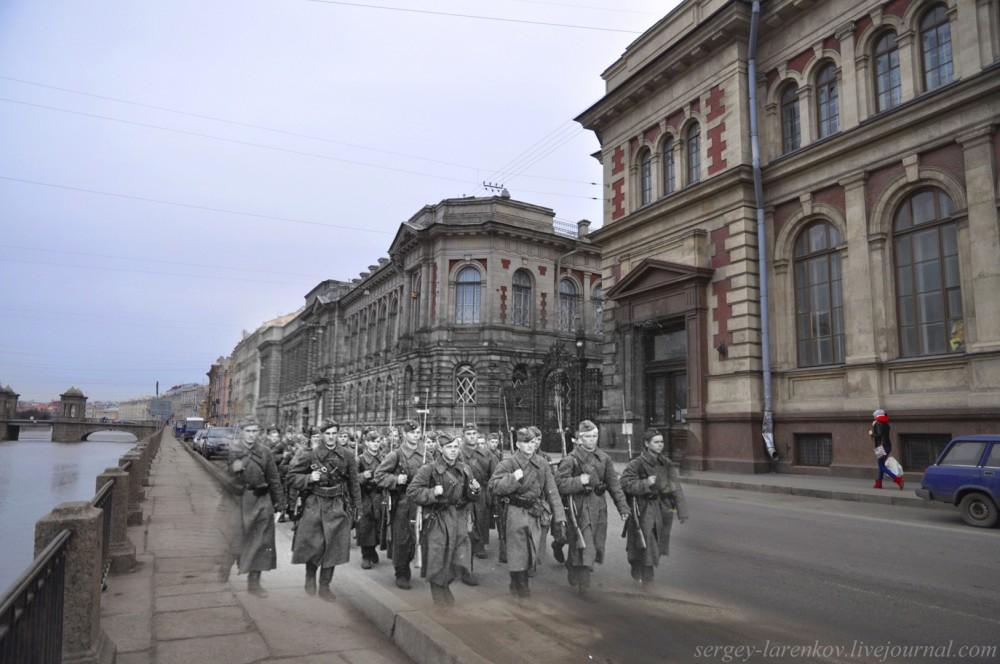 282. Ленинград 1941-2013. Фонтанка, 76SL