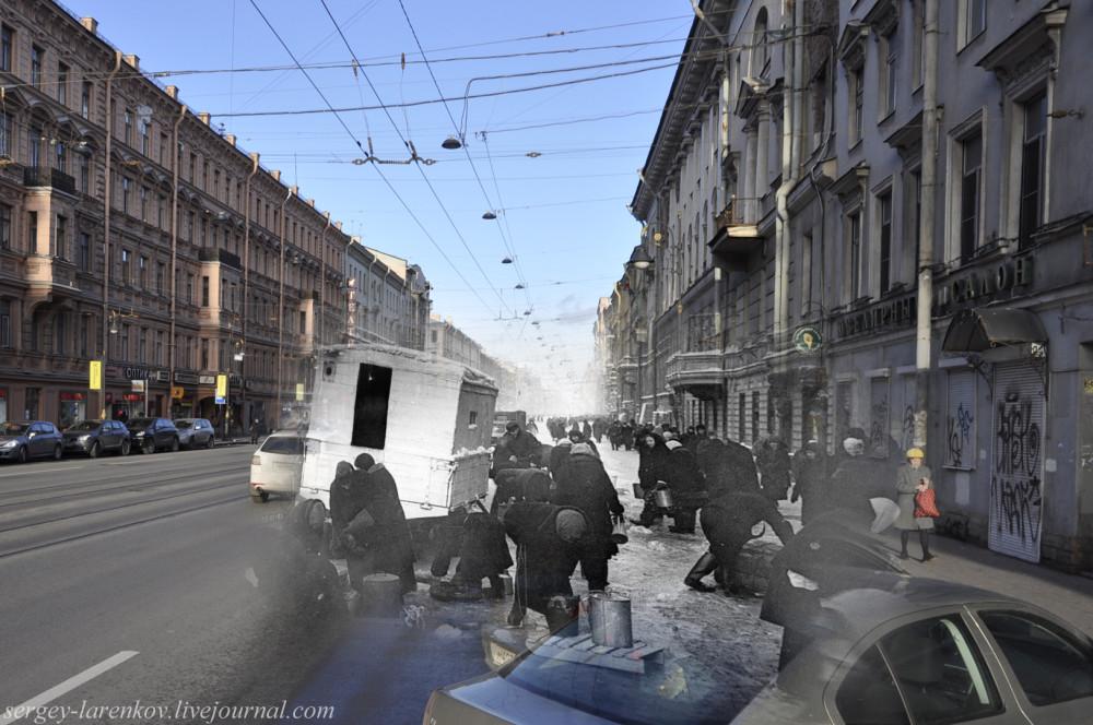244. Ленинград 1942-2013. Колонка на Литейном.SL