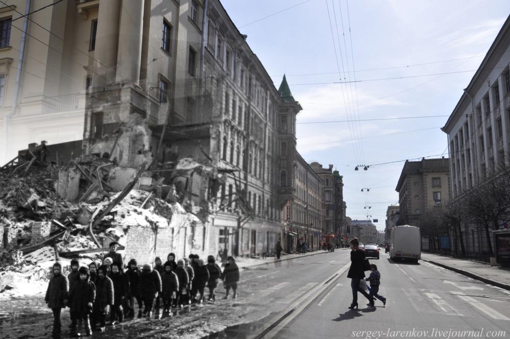 Sur les routes de la guerre de Brest 1941 à Berlin 1945. Quatre ans de guerre en photo reconstruction. 253812_1000