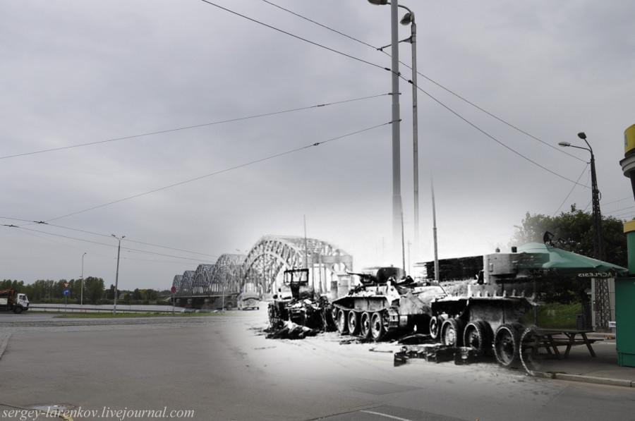 06.Рига 1941-2013 Сгоревшие танки БТ SL