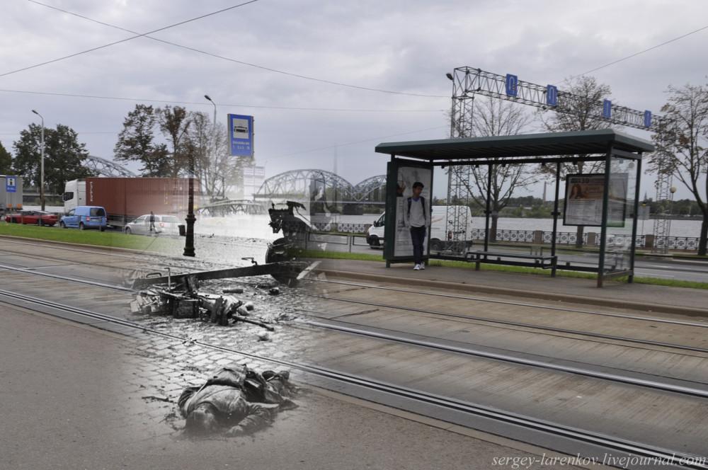 07.Рига 1941-2013 Погибший боец орудийного расчета SL