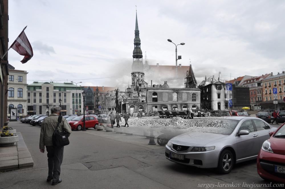 12.Рига  1941-2013 разрушения Старого города SL