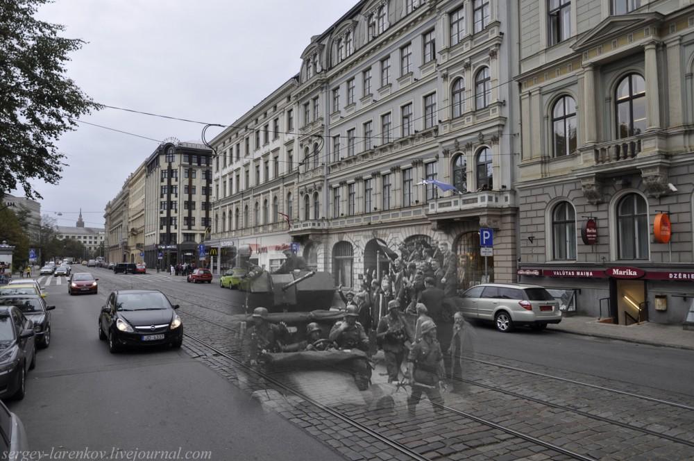 15.Рига 1941-2013 встреча немецких войск SL