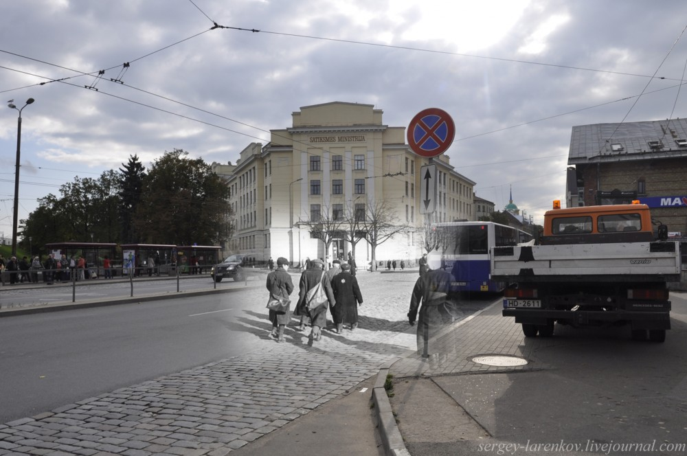 20.Рига 1941-2013 ул Гоголя Узники гетто возвращаются с работ SL