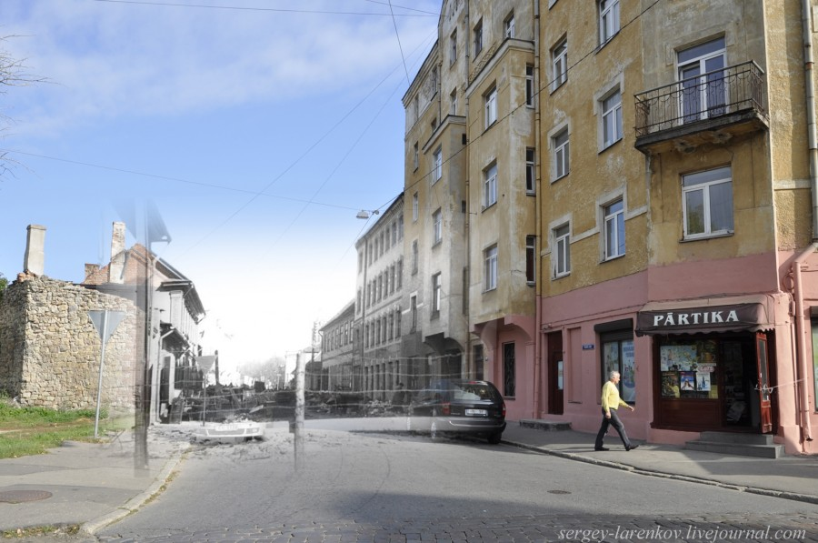 25.Рига 1941-2013 Гетто ул Маскавас - ул Католю SL