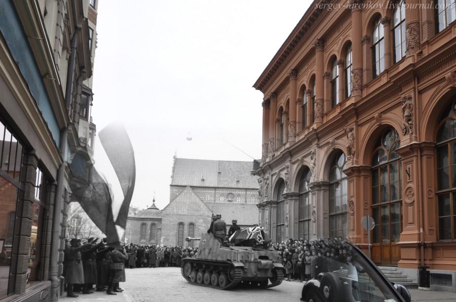 28.Рига 1944-2013 похороны знатного нациста SL
