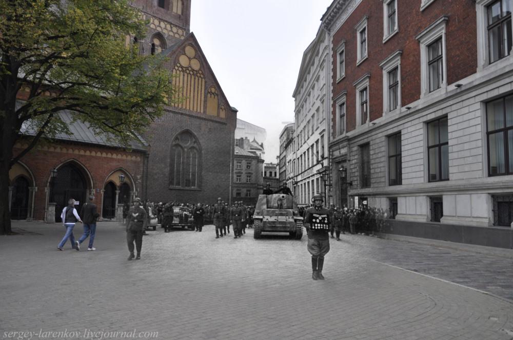 29.Рига 1944-2013 похороны знатного нациста SL