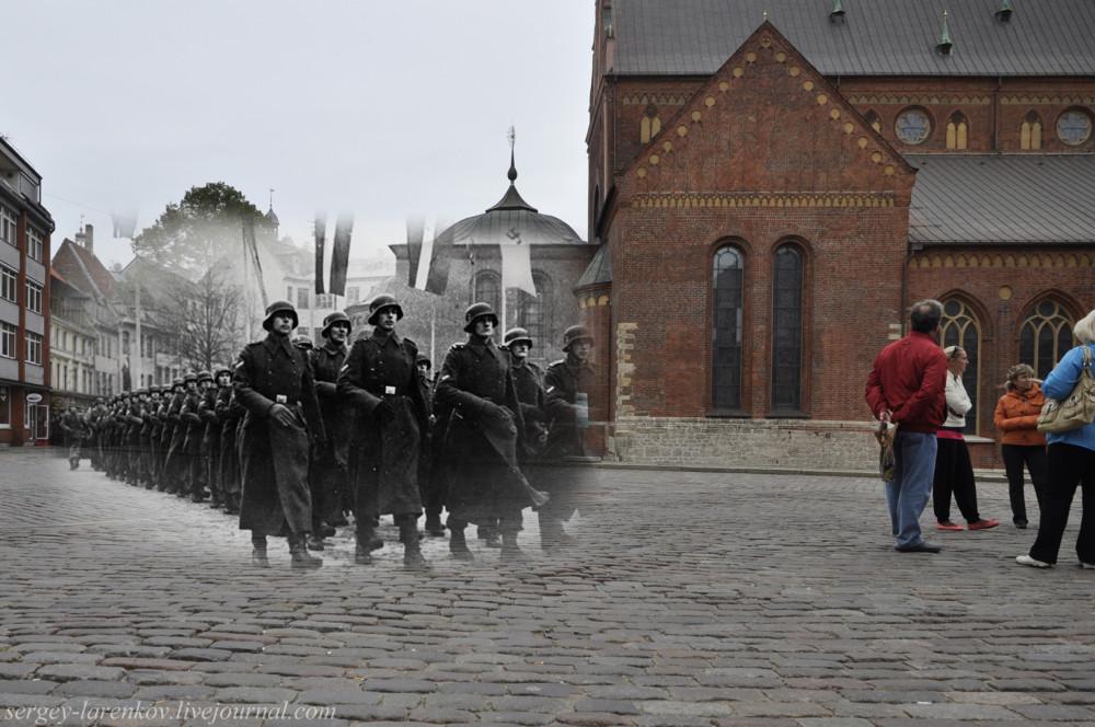 30.Рига 1944-2013 парад легионеров СС SL