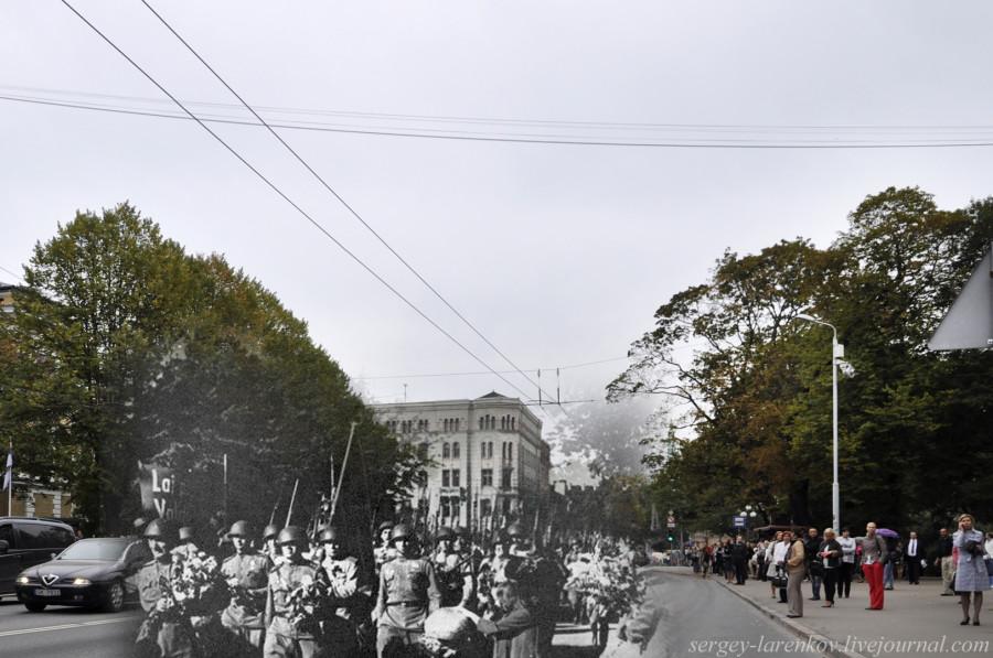 34.Рига 1944-2013. Встреча советских войск на улице Кришьянис Валдемарс SL