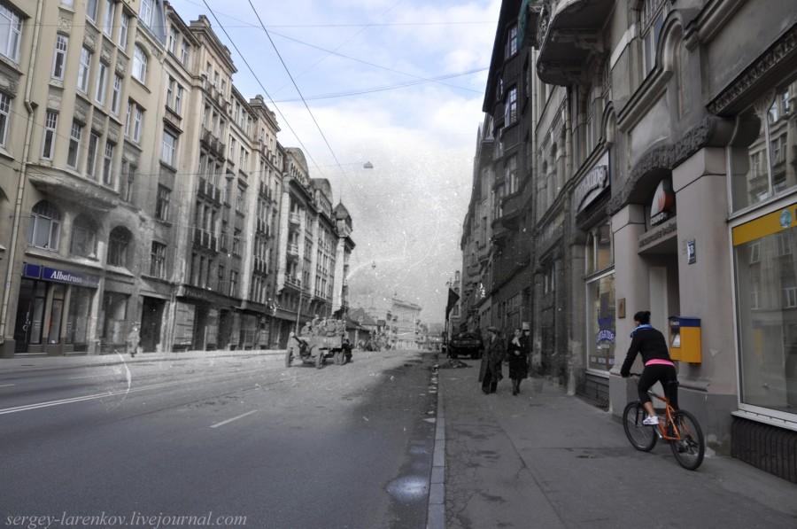 35.Рига 1944-2013 Советские артиллеристы на ул Бривибас SL