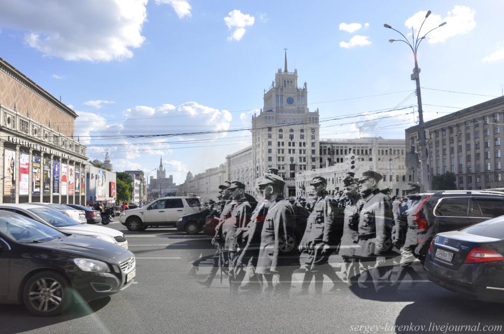 78.Москва 1944-2013 Пленные немецкие генералы на Тверской