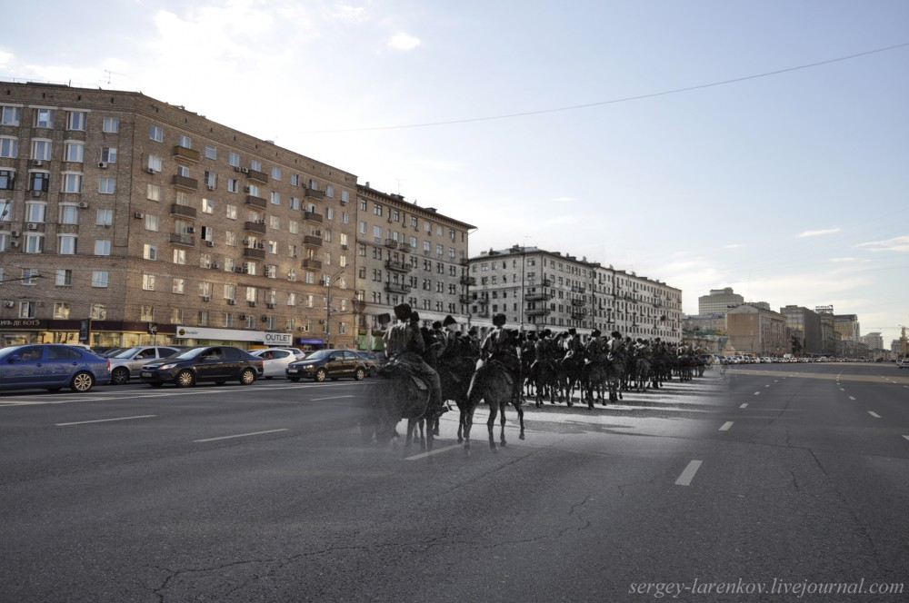 87.Москва, 1941-2013 Казаки на Садовом кольце