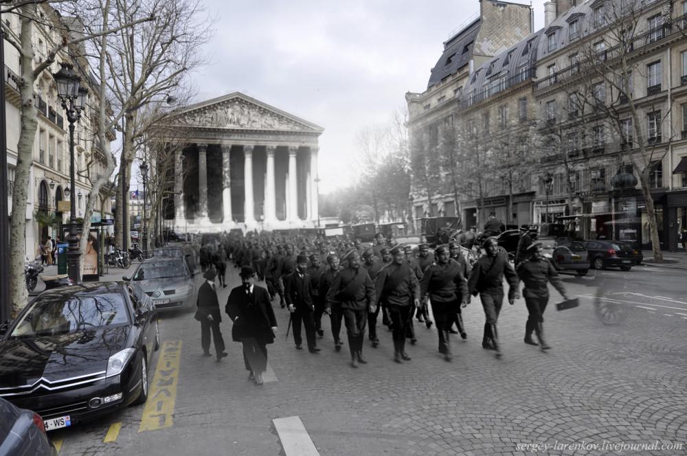 12.Париж 1916-2013. Русский экспедиционный корпус на Rue Royale