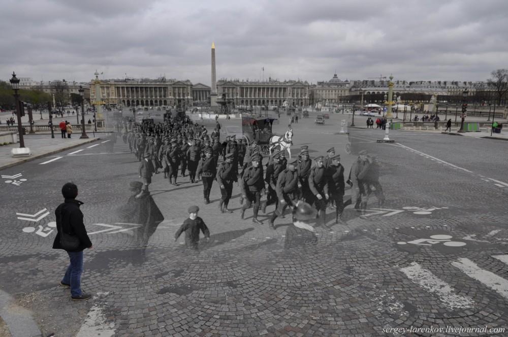 15.Париж 1916-2013. Русский экспедиционный корпус на площади Конкорд