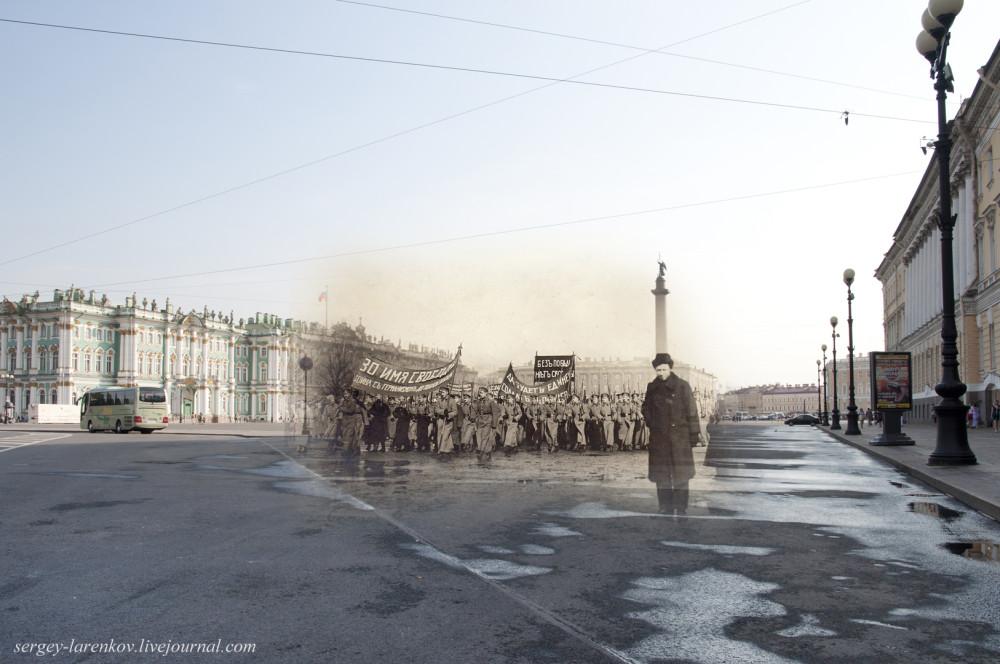 17.Санкт-Петербург 1917-2014. Дворцовая площадь.