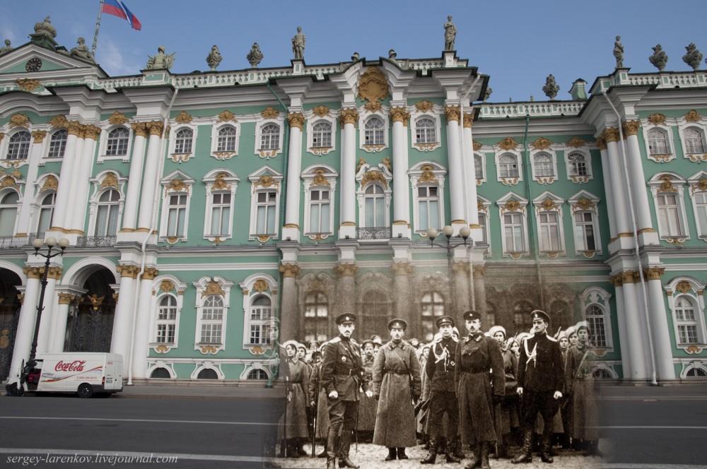 19.Санкт-Петербург 1917-2014. Дворцовая площадь.