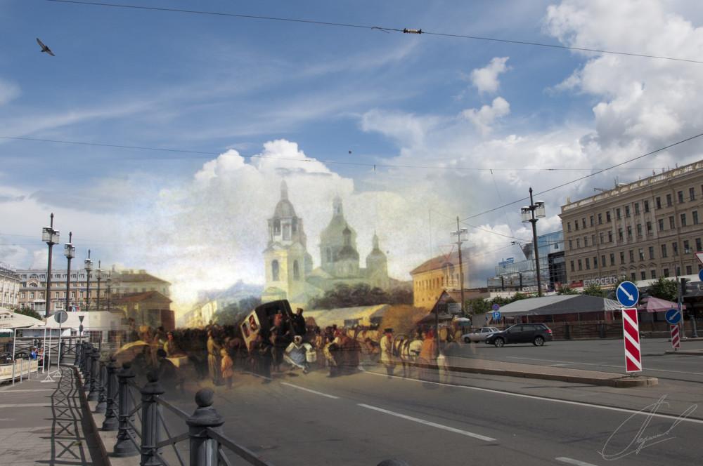 20.Сенная площадь. Волков Адриан Маркович,1865