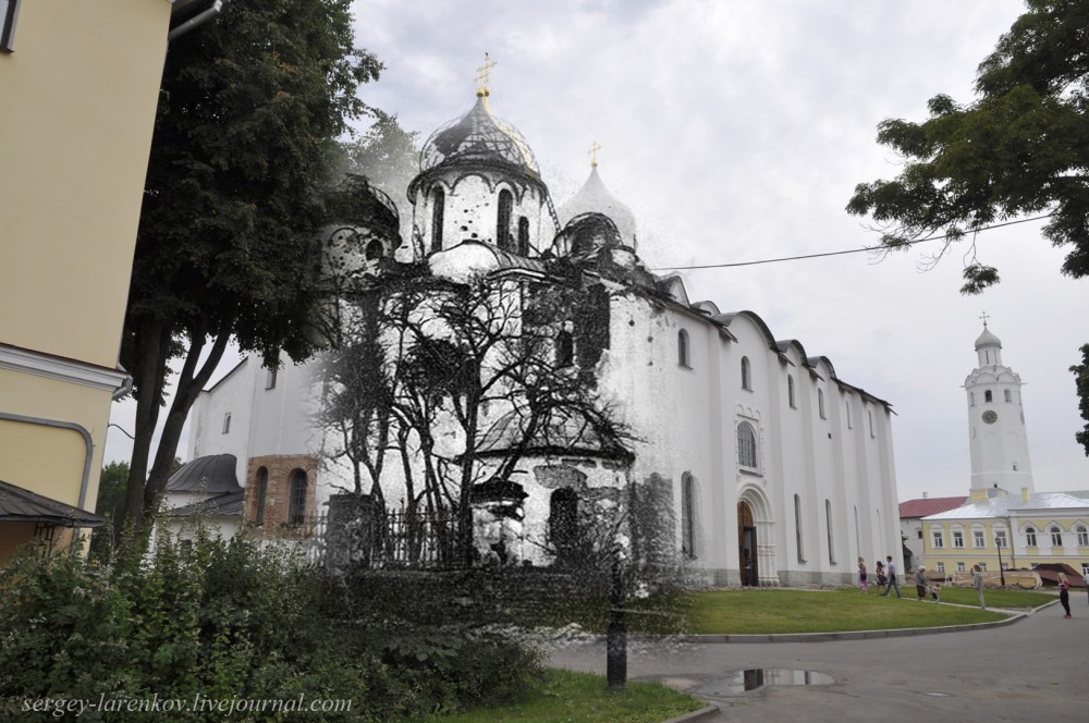 003.Великий Новгород 1944-2013 Повреждения Софийского собора