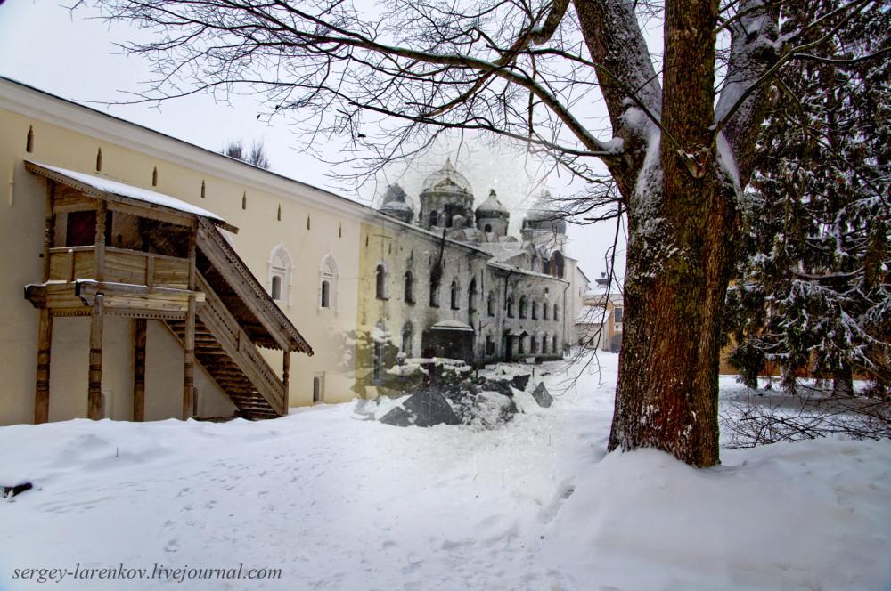 004.Великий Новгород 1944-2015 Никитский корпус и купола Софийского собора