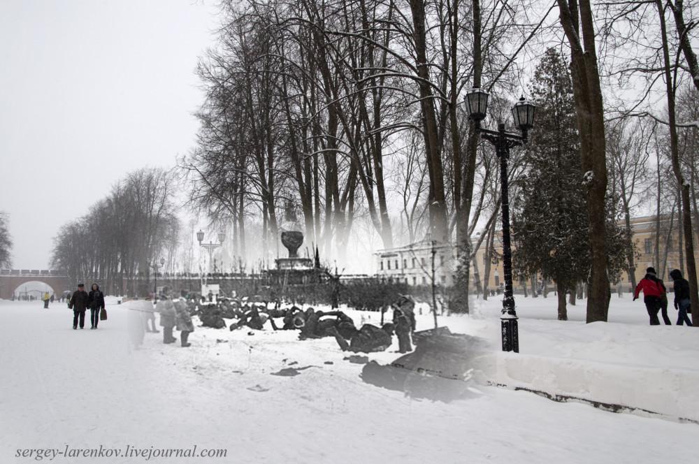 007.Великий Новгород 1944-2015 Разрушенный памятник Тысячелетию России
