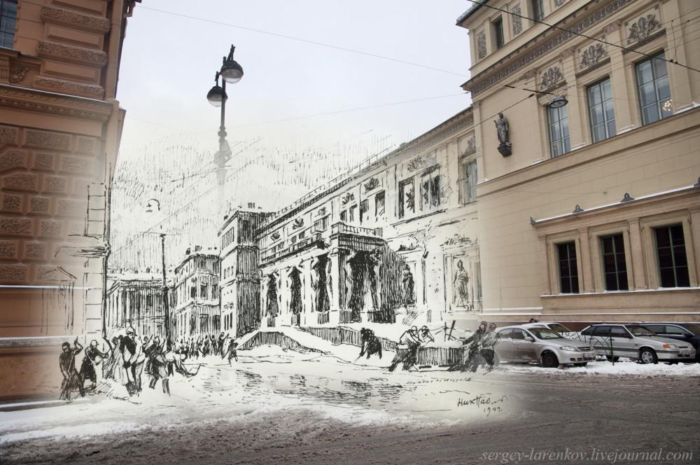 Ленинград 1941-Санкт-Петербург 2015 Атланты Николай Павлов
