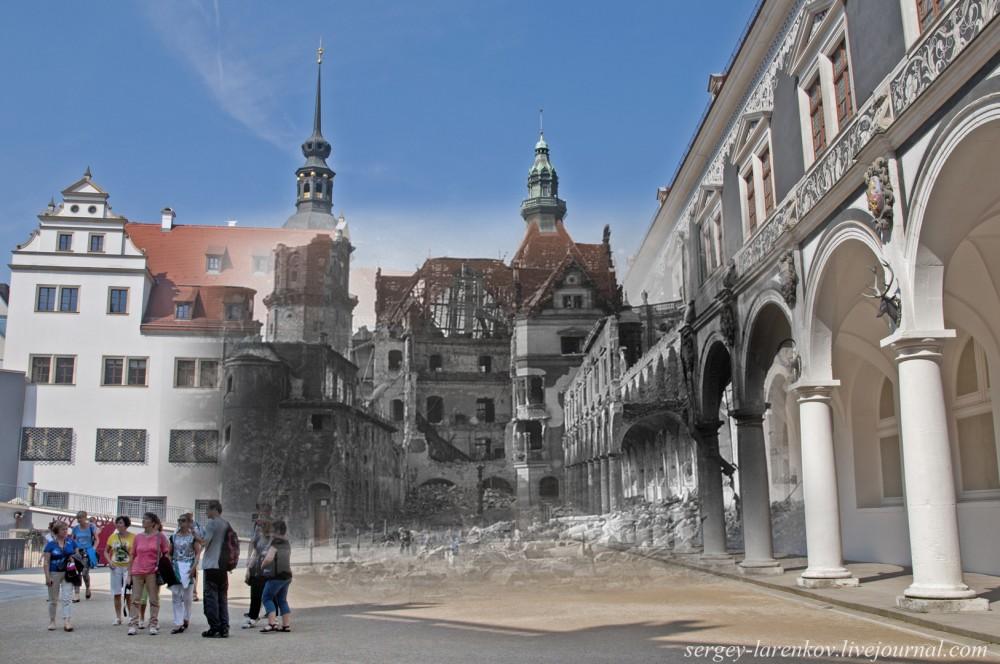 003.Дрезден 1945-2014 Конюшенный двор Штальхоф DerStallhof