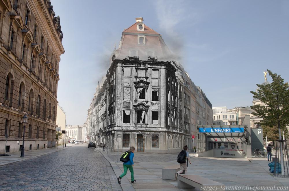 006.Дрезден 1945-2014 Разрушенный дом