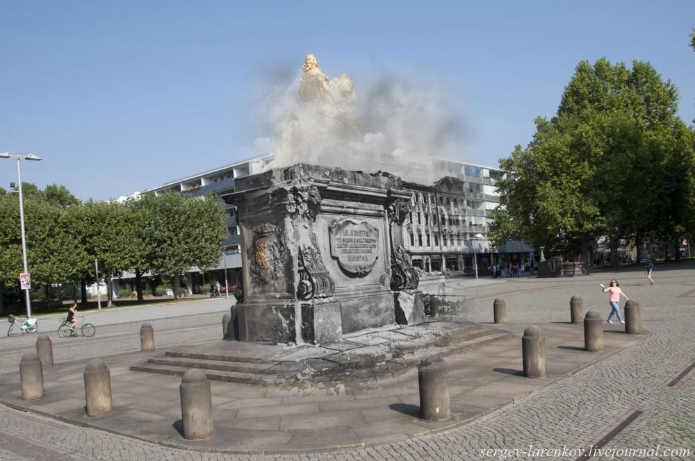 009.Дрезден 1945-2014 Золотой всадник GoldenerReiter
