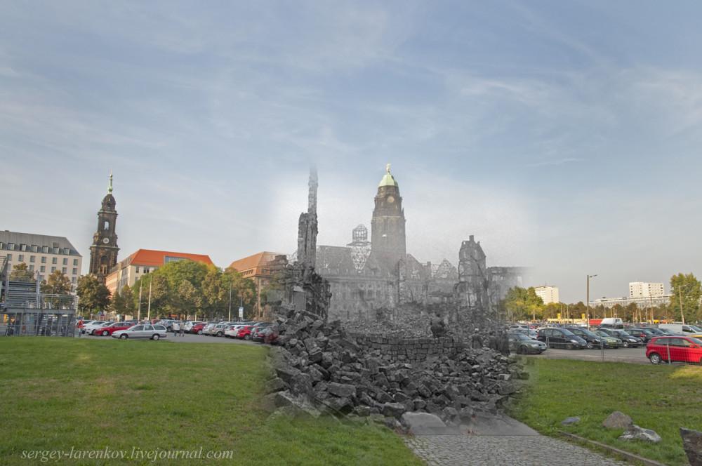011.Дрезден 1945-2014 Ратуша Rathaus