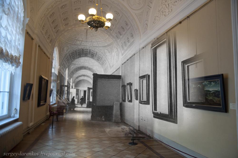 310.Ленинград 1941-Санкт-Петербург 2015 Эрмитаж. Галерея Малого эрмитажа (зал 262)