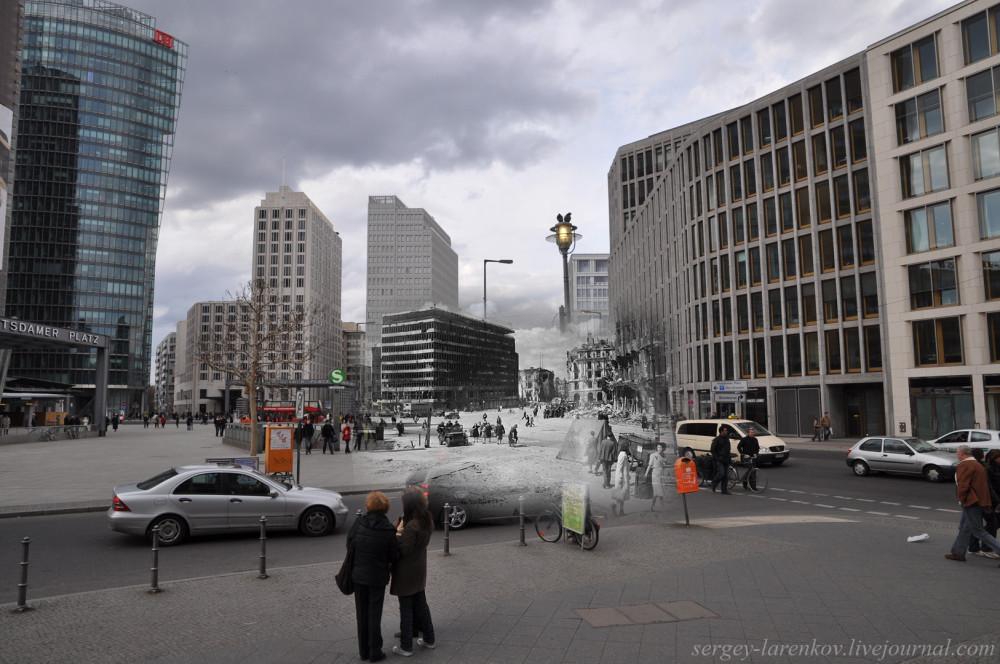 002.Берлин 1945-2010 Потсдамская площадь - Potsdamerhlatz.jpg