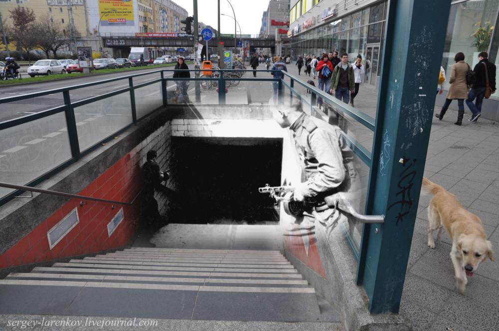 005.Берлин 1945-2010 Бой за станцию меро Франкфуртераллее - Frankfurter allee.jpg