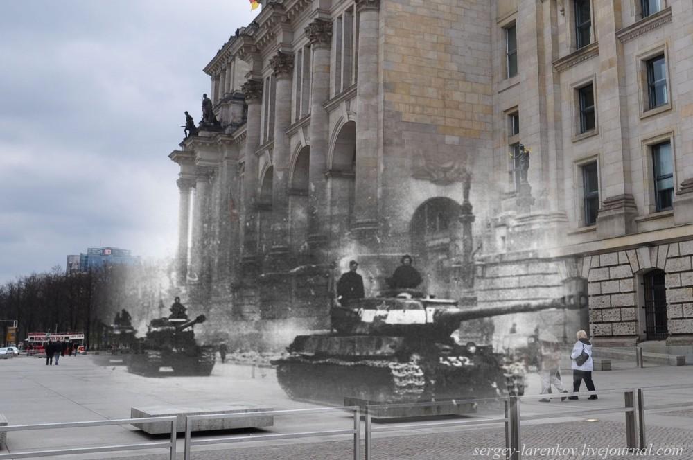 010.Берлин 1945-2010 Исы у Рейхстага.jpg