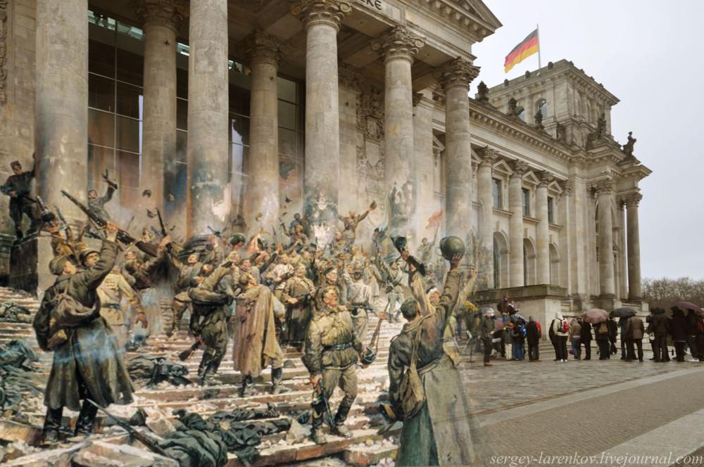 011.Берлин 1945-2010 С картины Победа Петра Александровича Кривоногова .jpg