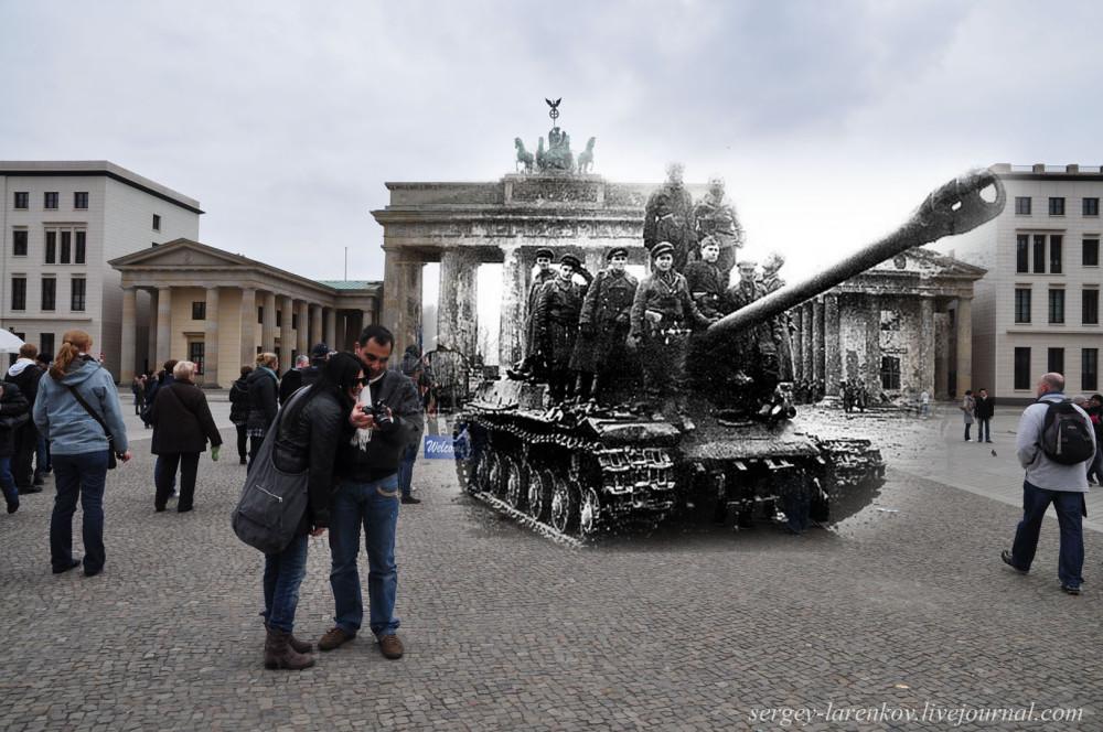 019.Берлин 1945-2010 Танк на Паризер платц.jpg