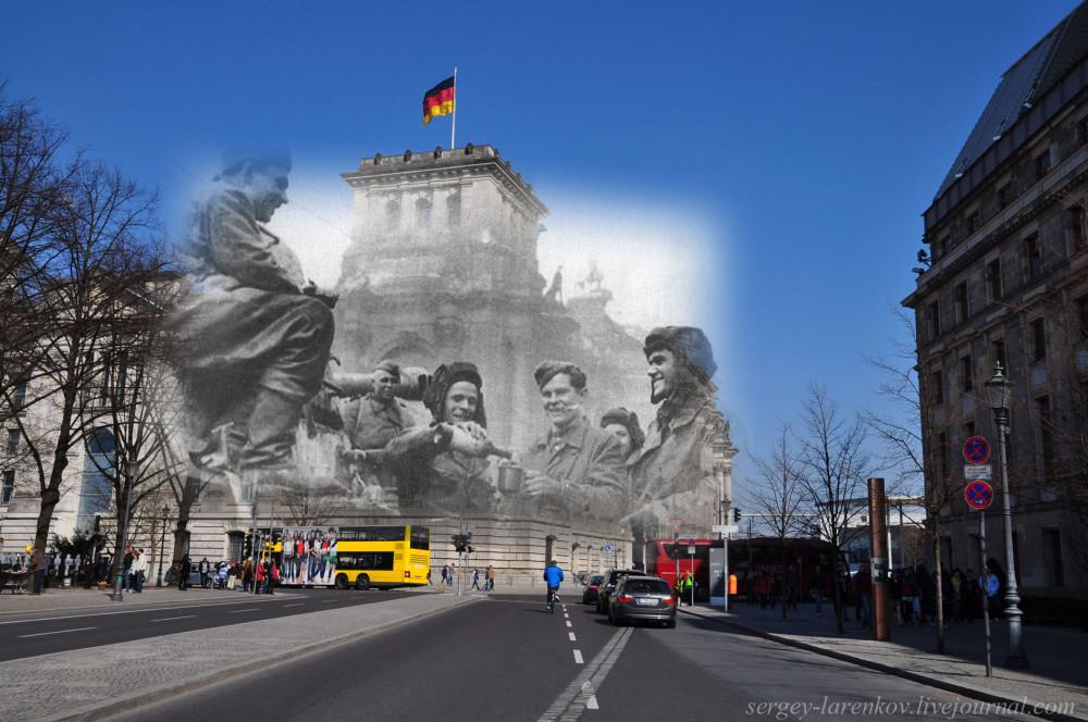 028.Берлин 1945-2010 Водка на броне.jpg