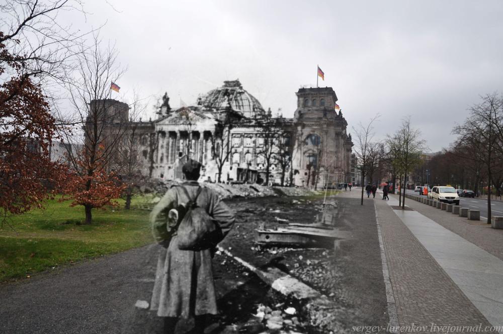 035.Берлин 1945-2010 Солдат-победитель у Рейхстага.jpg