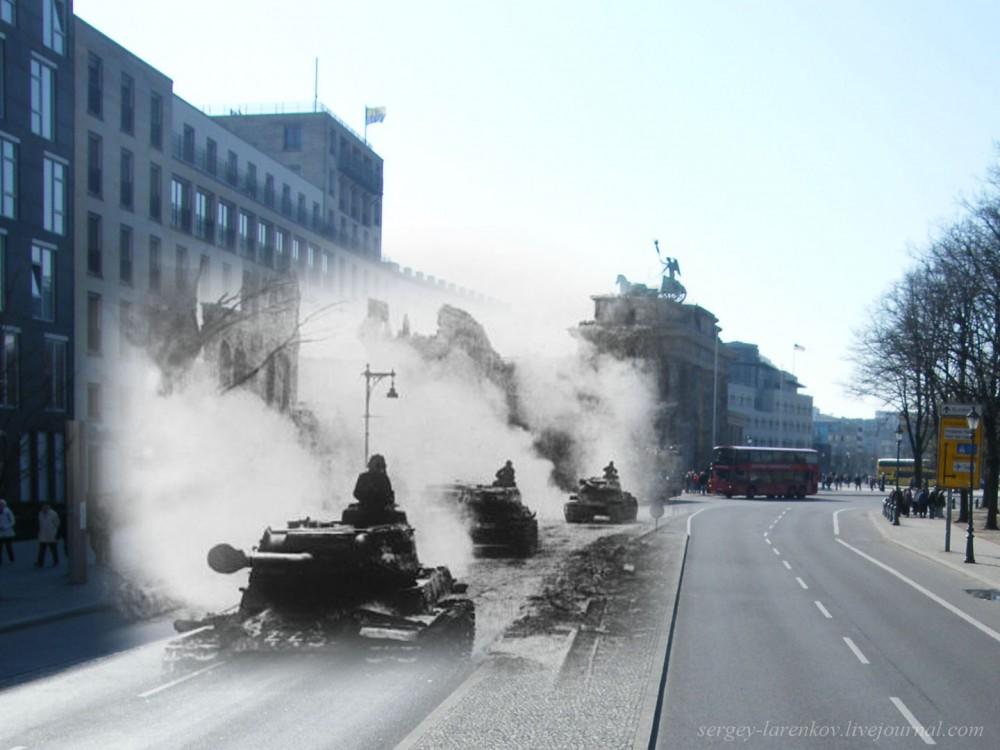 042.Берлин 1945-2010 Танки ИС-2.jpg