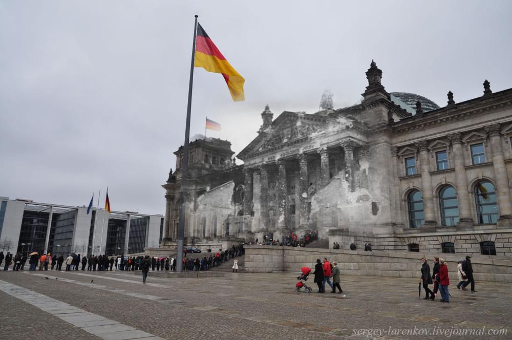 043.Берлин 1945-2010 У Рейхстага.jpg