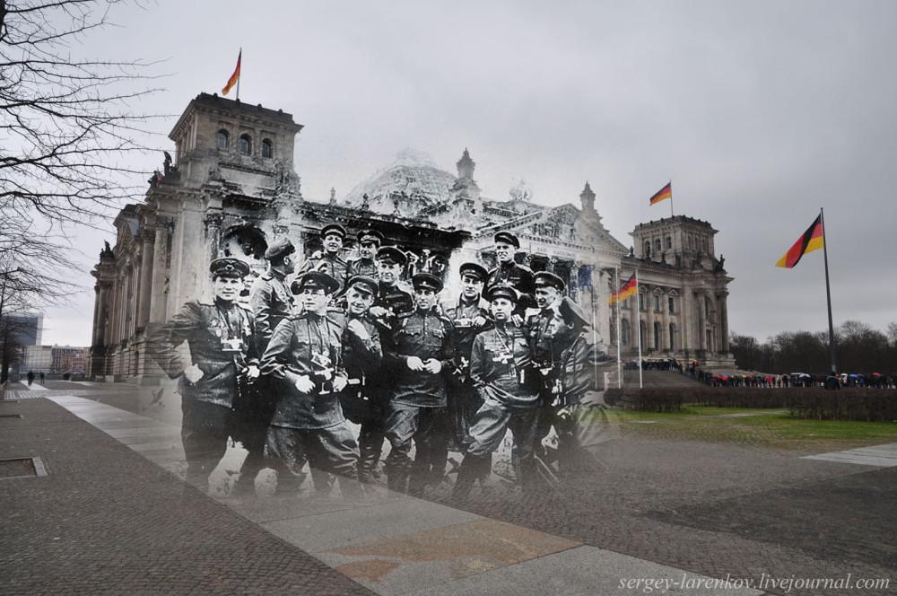 045.Берлин 1945-2010 Фотокорреспонденты у рейхстага.jpg