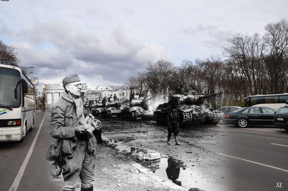 046.Берлин 1945-2010 Танки на ул 17 июня.jpg