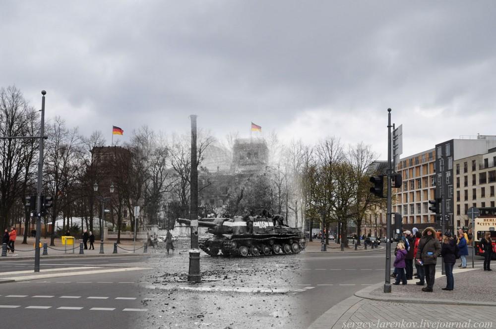 049.Берлин 1945-2010 ИСУ-152 на параде.jpg