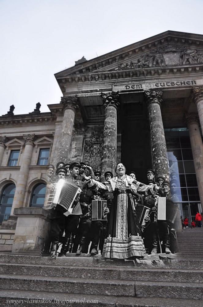 050.Берлин 1945-2010 Концерт Лидии Руслановой у Рейхстага.jpg