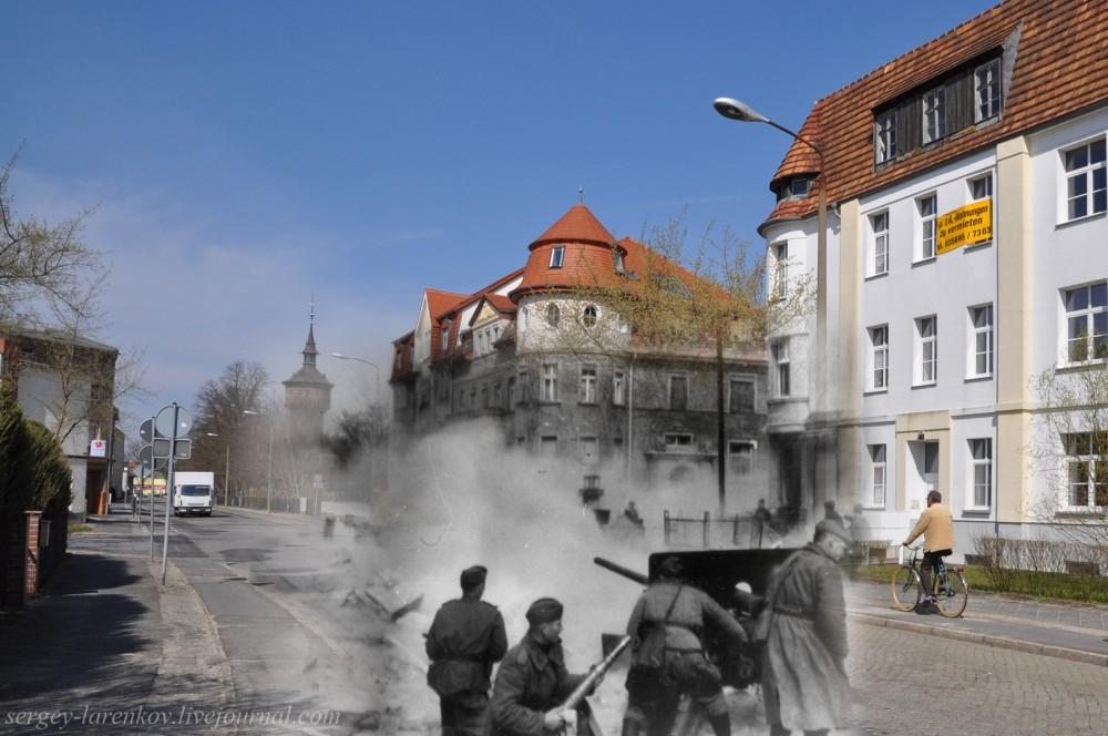 053.Германия 1945-2010 Город Форст начало наступления Первого Украинского фронта.jpg