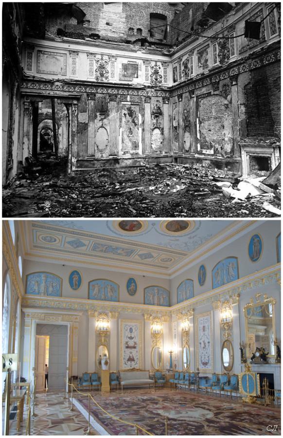 Екатерининский дворец. Арабесковый зал сравнение СЛ.jpg